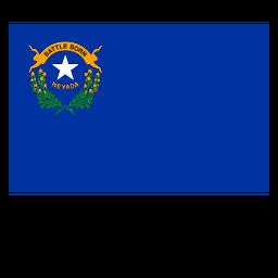Staatsflagge von Nevada