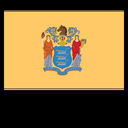 Bandera del estado de nueva jersey