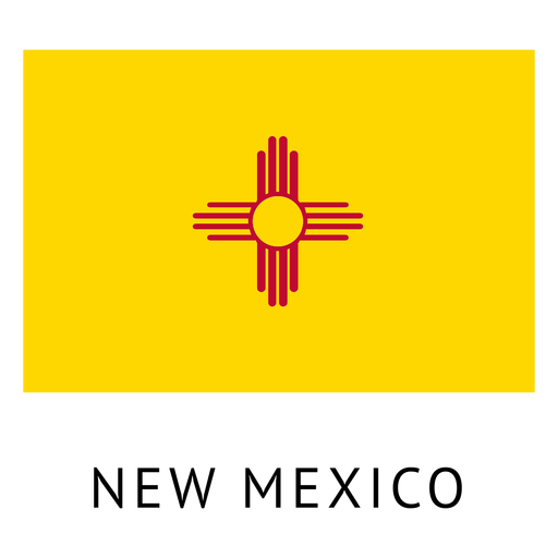 New mexico state flag Transparent PNG