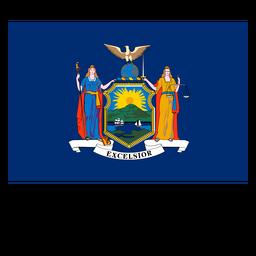 Bandeira do estado de Nova iorque