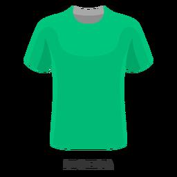 Dibujos animados de camiseta de fútbol de la copa mundial de Nigeria