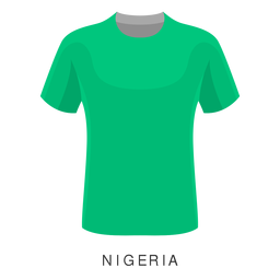 Nigeria world cup football shirt cartoon