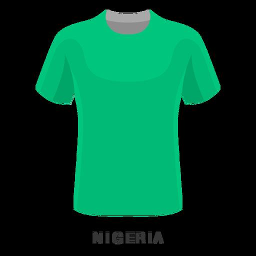 Nigeria world cup football shirt cartoon Transparent PNG