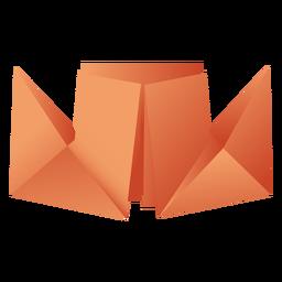 Barco de papel de origami