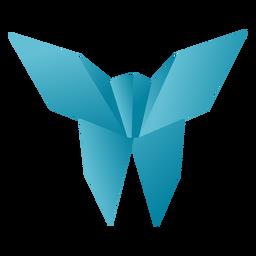 Papel borboleta de Origami