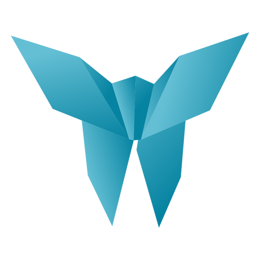 Origami Papier Schmetterling Transparent PNG
