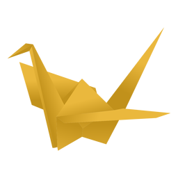 Guindaste de papel Origami