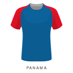 Panama world cup football shirt cartoon