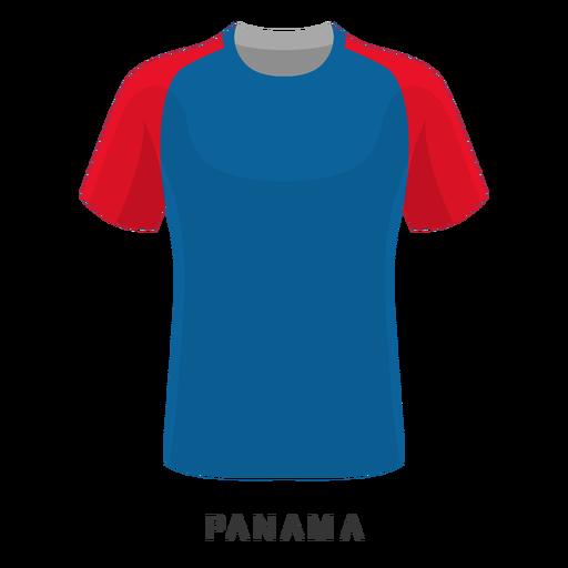 Desenhos animados da camisa do futebol da copa do mundo de Panamá Transparent PNG