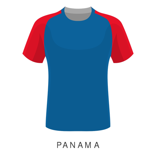 Panama world cup football shirt cartoon Transparent PNG