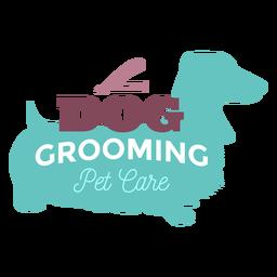 Logo de cuidado de mascotas