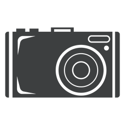 Photo camera grey icon