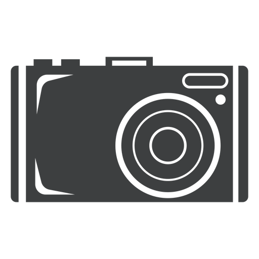 Photo camera grey icon Transparent PNG