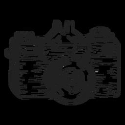Fotokamera-Skizze