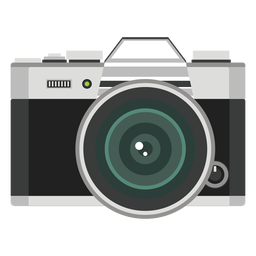 Vector de câmera de fotos