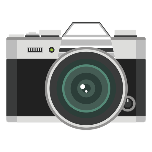 Foto camara vector Transparent PNG