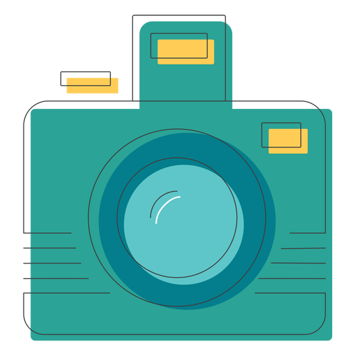 Photographic camera icon Transparent PNG