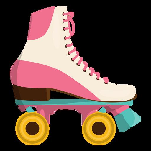Pink roller skate shoe Transparent PNG