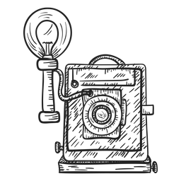 Esboço da câmera de chapa