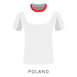 Poland world cup football shirt cartoon