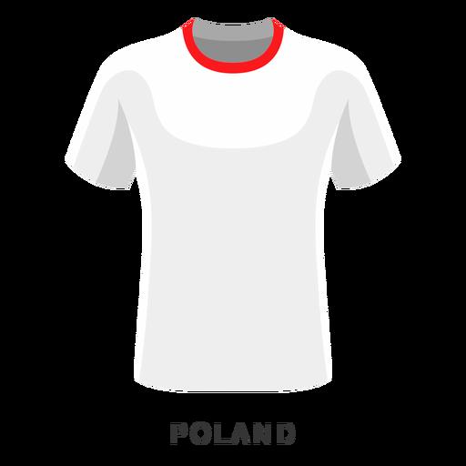 Polonia copa mundial de fútbol camiseta de dibujos animados Transparent PNG