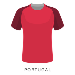 Portugal world cup football shirt cartoon