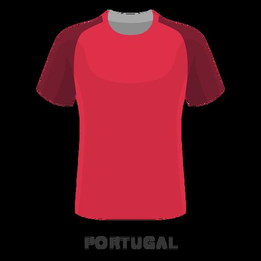 Desenhos animados da camisa do futebol da copa do mundo de Portugal Transparent PNG