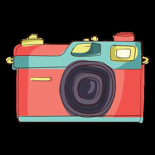 Rangefinder camera cartoon Transparent PNG