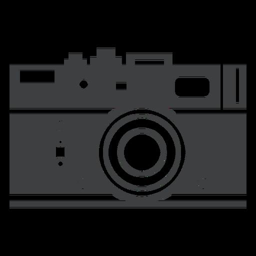 Ícone cinza da câmera rangefinder Transparent PNG