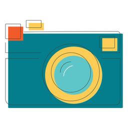 Rangefinder camera icon