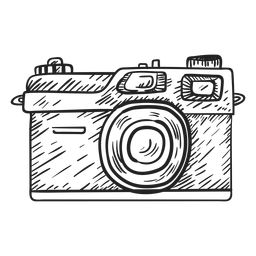 Rangefinder camera sketch