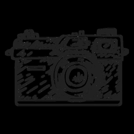 Rangefinder camera sketch Transparent PNG