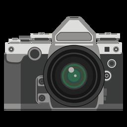 Gráfico retro de la cámara