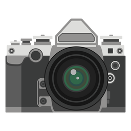 Retro camera graphic