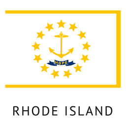 Bandeira do estado de Rhode island