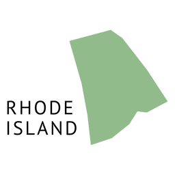 Rhode Island State Karte