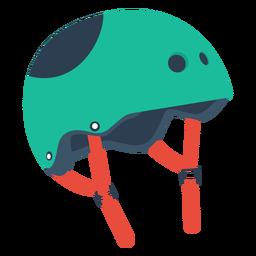 Ícone do capacete de skate de rolo