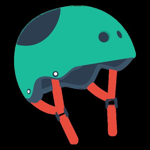 Roller skate helmet icon Transparent PNG