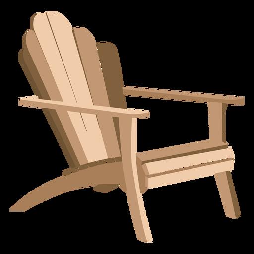 Adirondack armchair Transparent PNG