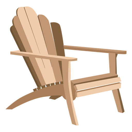 Adirondack armchair