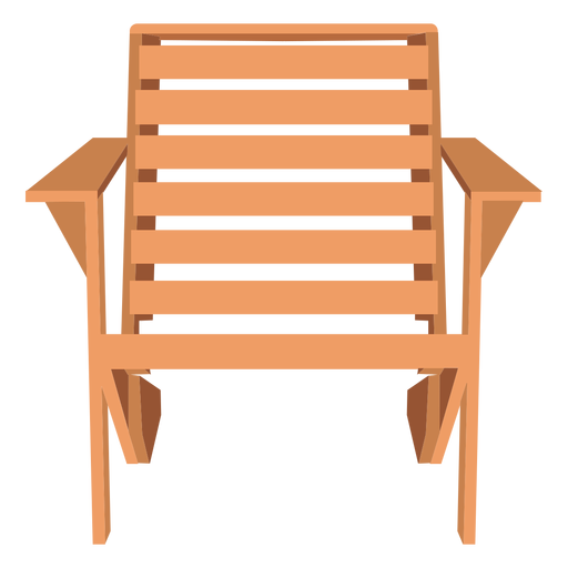 Adirondack armchair illustration Transparent PNG