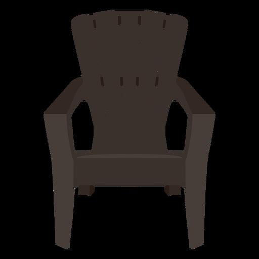Adirondack chair - Transparent PNG & SVG vector