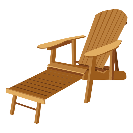 Adirondack Lounge Chair Transparent PNG