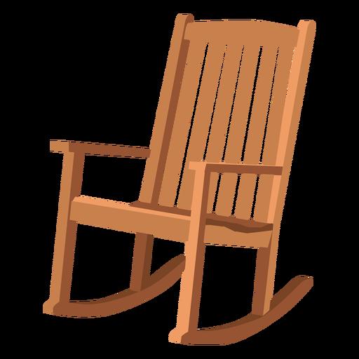 Adirondack rocking chair Transparent PNG