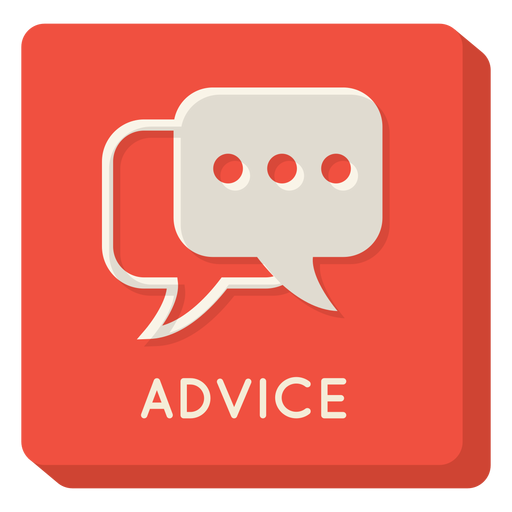 Advice square icon Transparent PNG