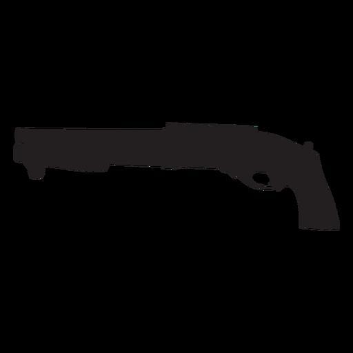 Agm escopeta gris silueta Transparent PNG