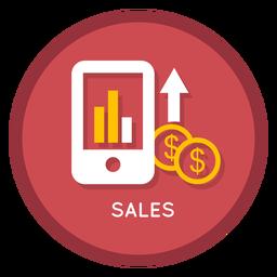 Ícone de vendas de negócios