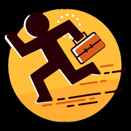 Icono de fugitivo de empresario