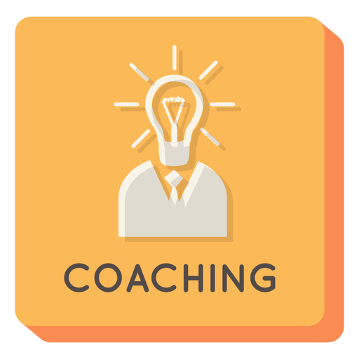 Coaching square icon Transparent PNG