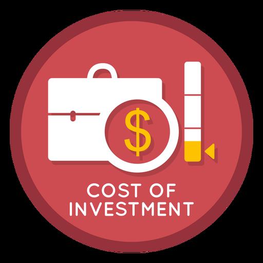 Icono de costo de inversión